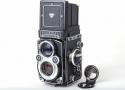 【美品】Rolleiflex/ローライ 3.5F ホワイト 二眼レフカメラ schneider Xenotar 75/3.5レンズ付