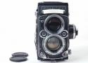 【美品】Rolleiflex/ローライ 2.8F opton PL 80/2.8(特別Planar) レンズ付き ブラック