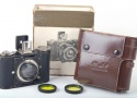 【良品】Makina/マキナ Plaubel-Makinette 3X4カメラ supracomar 45/2レンズ付