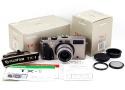 【美品】Fujifilm/富士フィルム TX-1 Fujinon 45mm F4レンズ シャンパン色 ハッセル XPANパノラマカメラセット