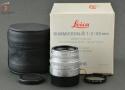 【中古】Leica ライカ SUMMICRON-M 50mm f/2 クローム E39 11816 第4世代