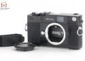 【中古】Zeiss Ikon ツァイス イコン ZM ブラック レンジファインダーカメラ B
