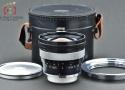 【中古】Carl Zeiss カールツァイス Distagon 18mm f/4 黒鏡筒 Contarex用