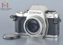 【中古】CONTAX コンタックス Aria 70周年記念モデル + Carl Zeiss Tessar 45mm f/2.8 T* 100周年記念モデル