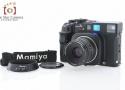 【中古】Mamiya マミヤ 7II ブラック + N 80mm f/4 L 中判フィルムカメラ