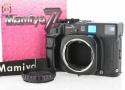 【中古】Mamiya マミヤ 7II ブラック 中判フィルムカメラ
