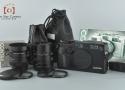 【中古】CONTAX コンタックス G2 ブラック + Carl Zeiss Biogon 28mm f/2.8 T* + Carl Zeiss Sonnar 90mm f/2.8 T*