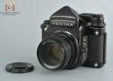 【中古】PENTAX ペンタックス 67 TTLファインダー 後期モデル + SMC 67 105mm f/2.4