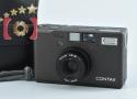 【中古】CONTAX コンタックス T3 チタンブラック コンパクトフィルムカメラ