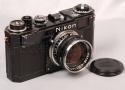 ニコン S2 ブラックペイント + ニッコール 50mm f1.4