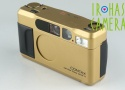 Contax T2 35mm Point & Shoot Film Camera In Gold #20437
