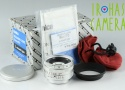 Konica Hexanon 35mm F/2 Lens for Leica L39 With Box #20941