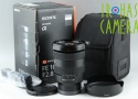 Sony FE 16-35mm F/2.8 GM Lens for Sony E With Box #21056