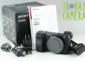 Sony Alpha a6300 Digital Camera With Box *Japanese Language Only* #21935