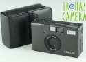 Contax T3 35mm Point & Shoot Film Camera In Black #22026 H1