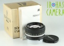 Nikon Nikkor 50mm F/1.4 Ai Lens With Box #22389