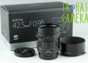 Voigtlander Nokton 42.5mm F/0.95 Lens for M4/3 With Box #22115