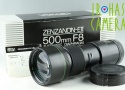 Zenza Bronica Zenzanon E II 500mm F/8 Lens for ETR With Box #22471