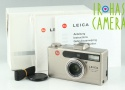 Leica Minilux Zoom 35mm Compact Film Camera With Box #22819