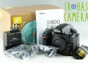 Nikon D800 Digital SLR Camera With Box *Shutter Count 54561*#22852