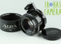 Alpa Kern-Macro-Switar 50mm F/1.9 AR Lens for Alpa #23604