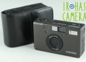 Contax T3 35mm Point & Shoot Film Camera In Black #23678