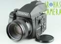 Contax 645 Medium Format Film Camera + 80mm F/2 Lens + MF-1 + MFB-1 #24747
