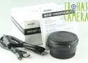 Sigma Mount Converter MC-11 Canon EF to Sony E With Box #24785