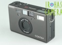 Contax T3 35mm Point & Shoot Film Camera In Black #25011