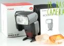 Canon Speedlite 600EX II-RT Shoe Mount Flash With Box #24926
