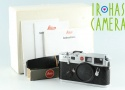 Leica M6 0.72 35mm Rangefinder Film Camera In Silver With Box #26619