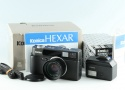 Konica Hexar AF 35mm Rangefinder Film Camera In Black With Box #26734