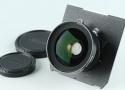 Nikon Nikkor-SW 65mm F/4 Lens #26955