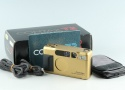 Contax T2 35mm Point & Shoot Film Camera In Gold With Box #27027