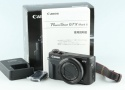 Canon Power Shot G7 X Mark II Digital Camera With Box #27070