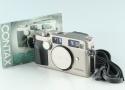 Contax G2 35mm Rangefinder Film Camera #29604