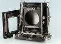 Ebony SW45 Ti 4x5 Large Format Film Camera + 6x9 Back #29870