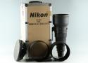 Nikon AF-I Nikkor 600mm F/4 D ED Lens #30159