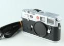 Leica M6 TTL 0.72 35mm Rangefinder Film Camera In Silver #30944