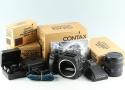 Contax 645 + 80mm F/2 Lens + MF-1 + MFB-1 + MFB1A #30959