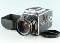 Hasselblad 503CW Midium Format Film camera + 80mm F/2.8 CF Lens + A12 #33190