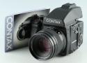 Contax 645 + 80mm F/2 Lens + MF-1 + MFB-1 + MFB1A #33379