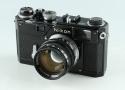 Nikon S3 35mm Rangefinder Film Camera + Nikkor-S 50mm F/1.4 Lens #34191