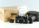 Nikon S3 Limited Edition Black + Nikkor-S 50mm F/1.4 Lens With Box #35492L4
