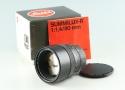 Leica Leitz Summilux-R 80mm F/1.4 3-Cam Lens for Leica R With Box #36553L1