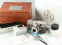 Leica M6 Platinum 35mm Rangefinder Film Camera + Elmar 50mm F/2.8 #36690T