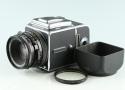 Hasselblad 501CM Medium Format Film Camera + Planar 80mm F/2.8 CF Lens + A12 #36947E3
