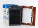 ソノタ Deardorff 5x7バック + カットフィルムホルダー 5x7 4枚セット