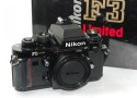 【コレクション向け】 Nikon F3 Limited 【未記入メーカー保証書、取説、元箱付一式】