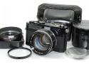 【珍 品】 Canon 7 ブラック 50/0.95付 【純正フード、ケース、72mmプロテクターフィルター付】